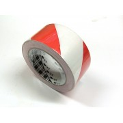 Afmærkningstape-Rød/hvid